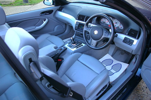 2003 BMW E46 M3 3.2 SMG Convertible Auto (27,152 miles) SOLD (picture 4 of 6)