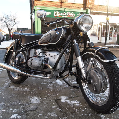 1956 BMW R50 Genuine UK Bike With Buff Logbook. SOLD (picture 1 of 6)
