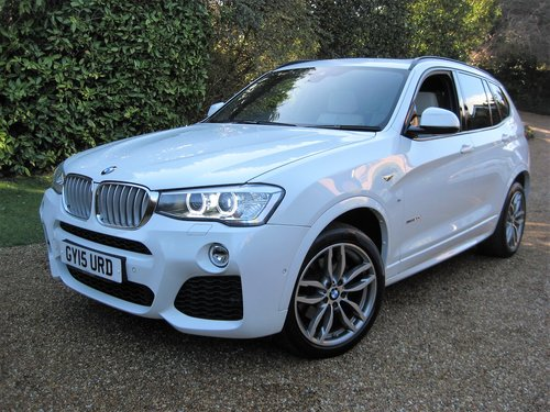 2015 BMW X3 3.0d M Sport With Panoramic Roof + £8k Of Options For Sale (picture 1 of 6)