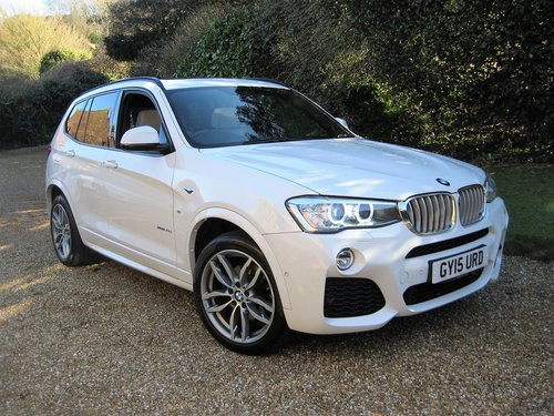 2015 BMW X3 3.0d M Sport With Panoramic Roof + £8k Of Options For Sale (picture 2 of 6)