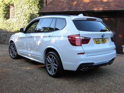 2015 BMW X3 3.0d M Sport With Panoramic Roof + £8k Of Options For Sale (picture 5 of 6)
