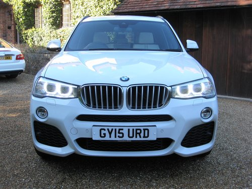 2015 BMW X3 3.0d M Sport With Panoramic Roof + £8k Of Options For Sale (picture 6 of 6)