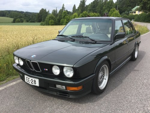 1986 BMW M535i LHD For Sale (picture 1 of 6)