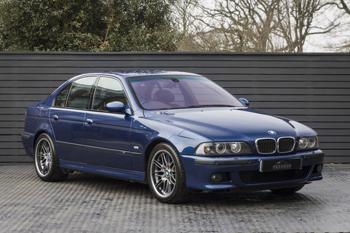 2001 BMW M5 (E39) SALOON For Sale (picture 1 of 6)