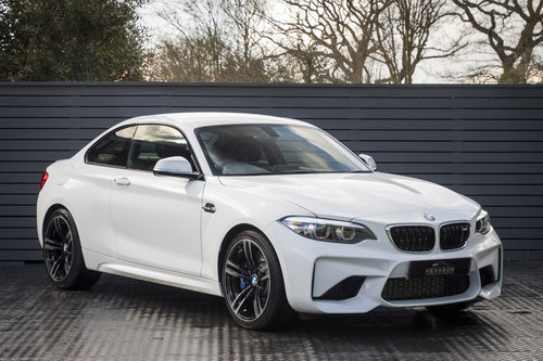 2018 BMW M2 DCT Coupe  (Only 570 MILES) SOLD (picture 1 of 6)