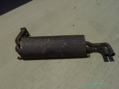 1980 ONE AND ONLY, SLIGHTLY USED, BMW, M-1, MUFFLER For Sale (picture 1 of 2)