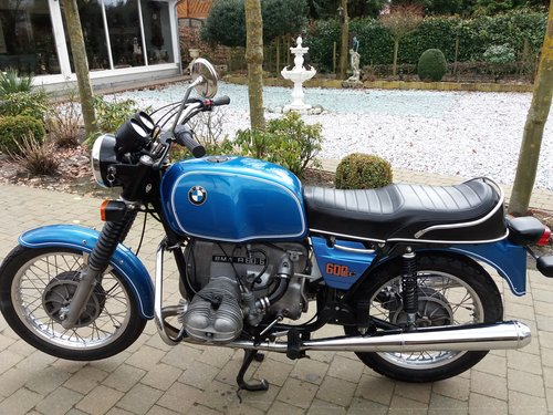 1975 bmw r60 6 sold car and classic. Black Bedroom Furniture Sets. Home Design Ideas