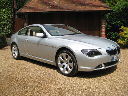 2005 BMW 645CI Auto Coupe With Just 19,000 Miles From New For Sale (picture 2 of 6)