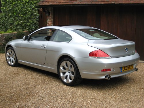 2005 BMW 645CI Auto Coupe With Just 19,000 Miles From New For Sale (picture 5 of 6)