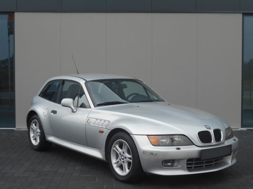 2000 BMW Z3 COUPE AUTOMATIC SILVER 24000 MILES LHD SOLD (picture 1 of 6)