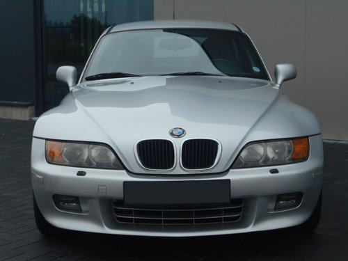 2000 BMW Z3 COUPE AUTOMATIC SILVER 24000 MILES LHD SOLD (picture 2 of 6)