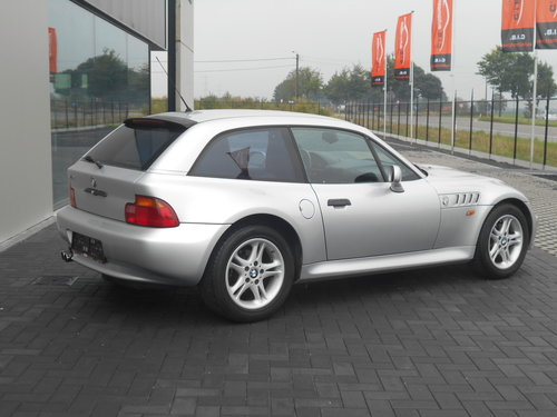 2000 BMW Z3 COUPE AUTOMATIC SILVER 24000 MILES LHD SOLD (picture 3 of 6)