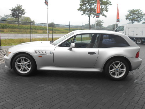 2000 BMW Z3 COUPE AUTOMATIC SILVER 24000 MILES LHD SOLD (picture 4 of 6)