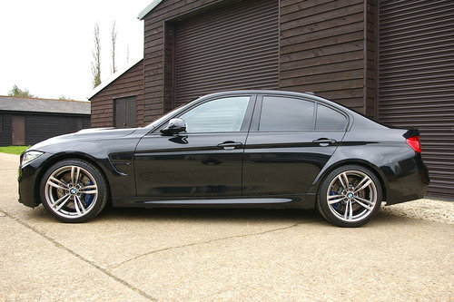 2014 BMW F80 M3 3.0 DCT Saloon Auto (26,875 miles) SOLD (picture 1 of 6)