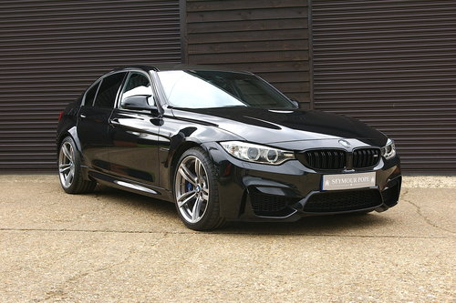 2014 BMW F80 M3 3.0 DCT Saloon Auto (26,875 miles) SOLD (picture 2 of 6)