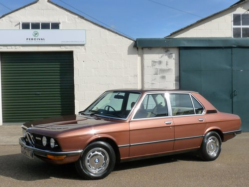 1976 BMW 525 E12 automatic, outstanding, SOLD SOLD (picture 1 of 6)
