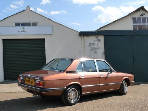 1976 BMW 525 E12 automatic, outstanding, SOLD SOLD (picture 2 of 6)