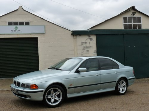 1999 BMW 535i Automatic, E39, immaculate SOLD (picture 1 of 6)