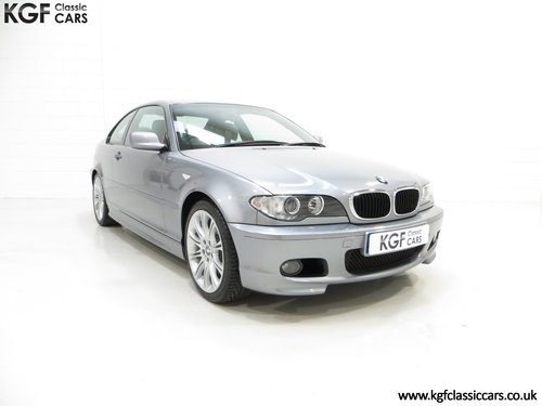 2003 An Astonishing BMW E46 318Ci MSport Coupe with 3,455 Miles SOLD (picture 1 of 6)