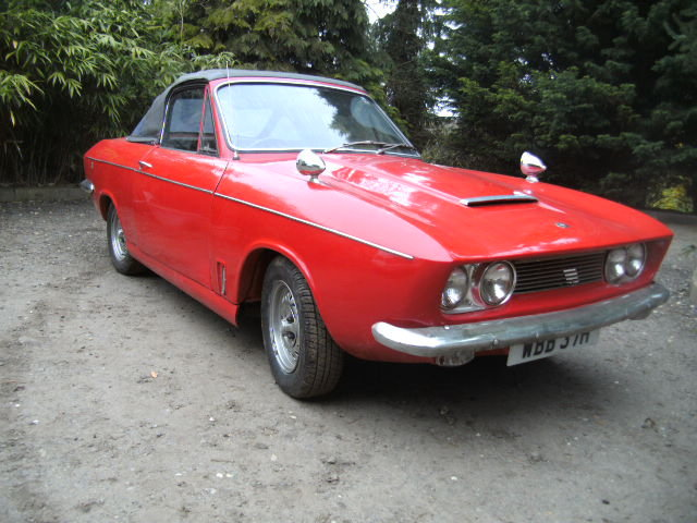 1969 Bond Equipe 2.0ltr GT Convertible 2 PLUS 2 For Sale (picture 1 of 6)