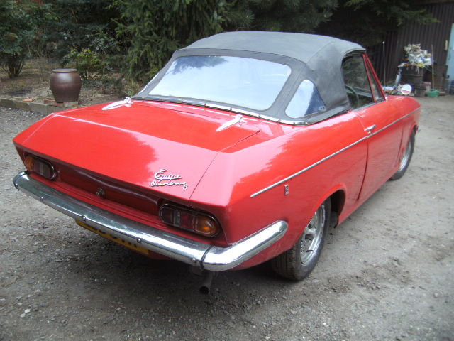 1969 Bond Equipe 2.0ltr GT Convertible 2 PLUS 2 For Sale (picture 5 of 6)