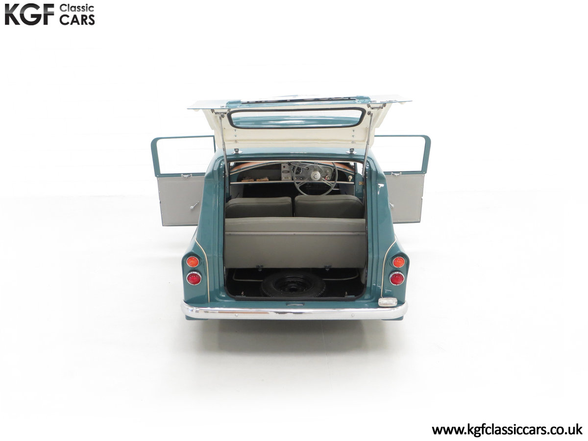 1966 A Professionally Restored Bond Minicar 250 G Estate SOLD (picture 11 of 24)