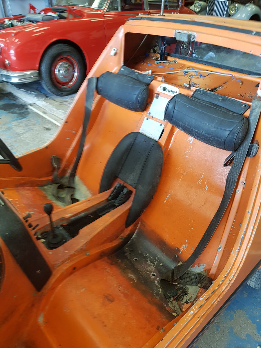 1973 Bond Bug for restoration SOLD (picture 3 of 6)