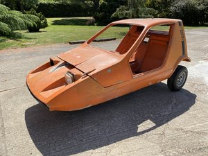 1972 Bond Bug restoration project - microcar
