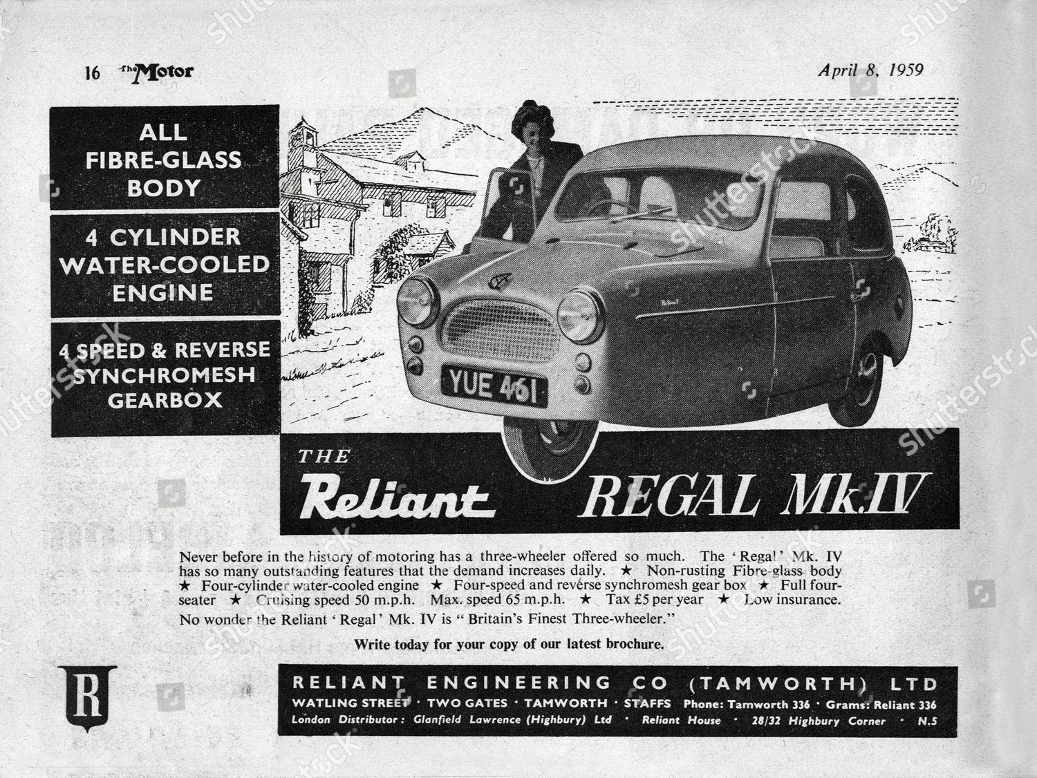 1959 bond minicar or Reliant Wanted not For Sale (picture 2 of 3)