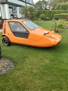 1970 Bond Bug - The whole package
