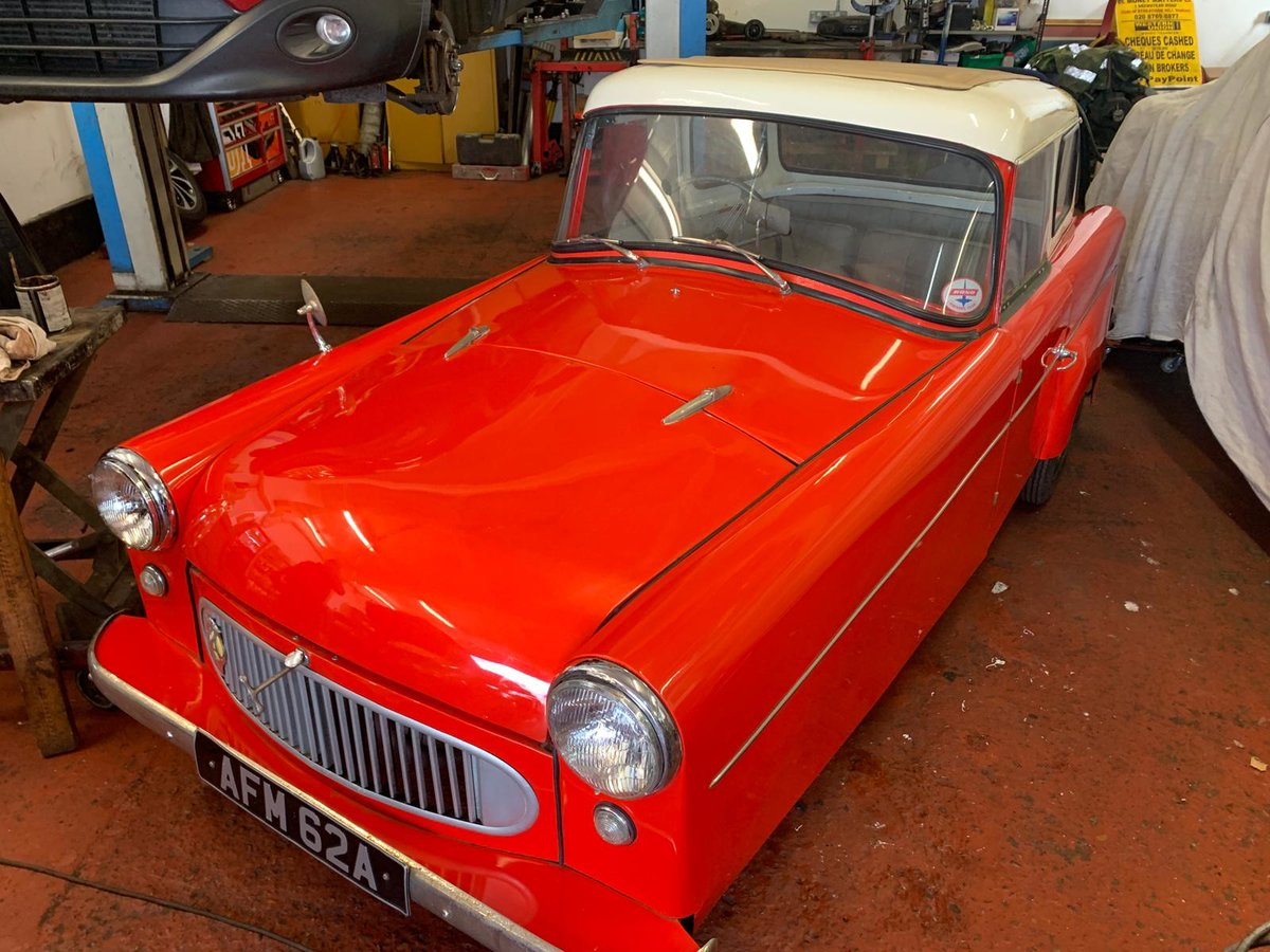 1958 BOND 'F' 250 Saloon For Sale (picture 1 of 6)