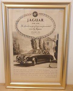 Original 1957 Jaguar Mark 8 Framed Advert