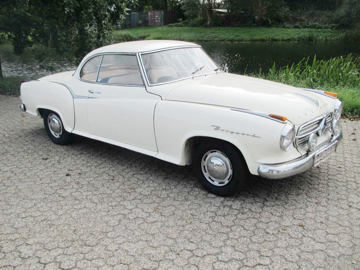 1960 Borgward Isabella T5 Coupe 17 Jan 2020 For Sale by Auction (picture 1 of 3)