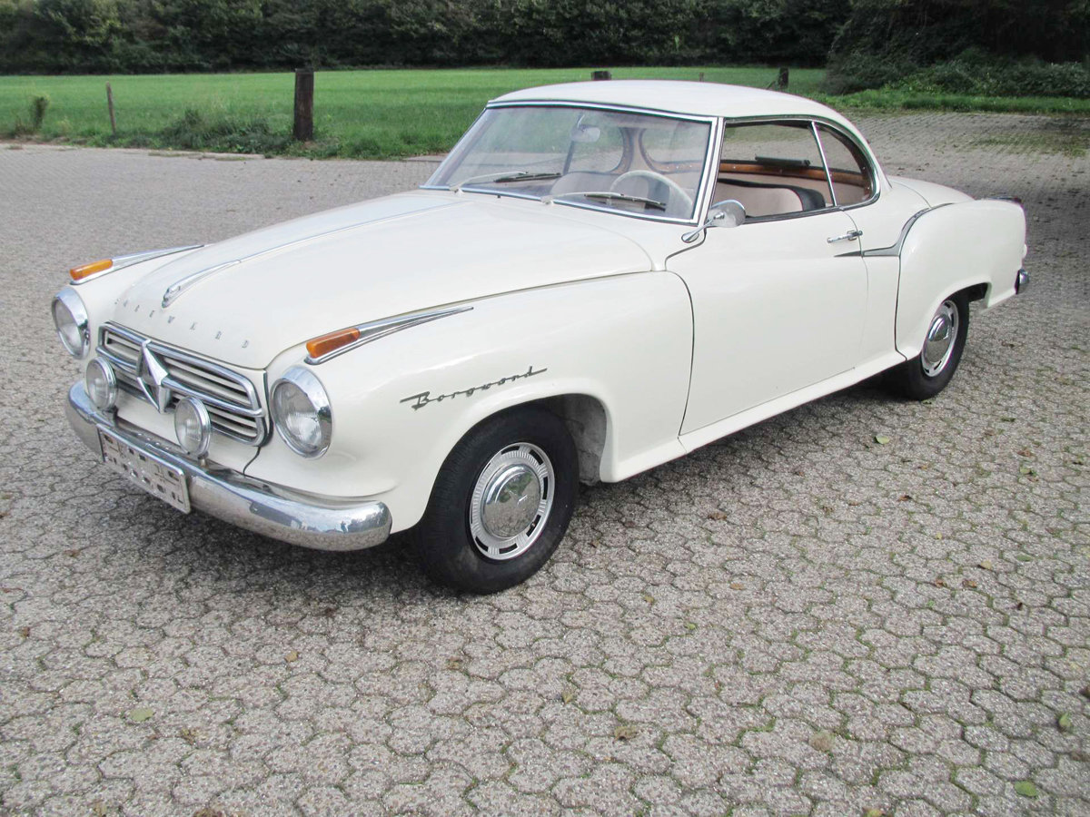 1960 Borgward Isabella T5 Coupe 17 Jan 2020 For Sale by Auction (picture 2 of 3)