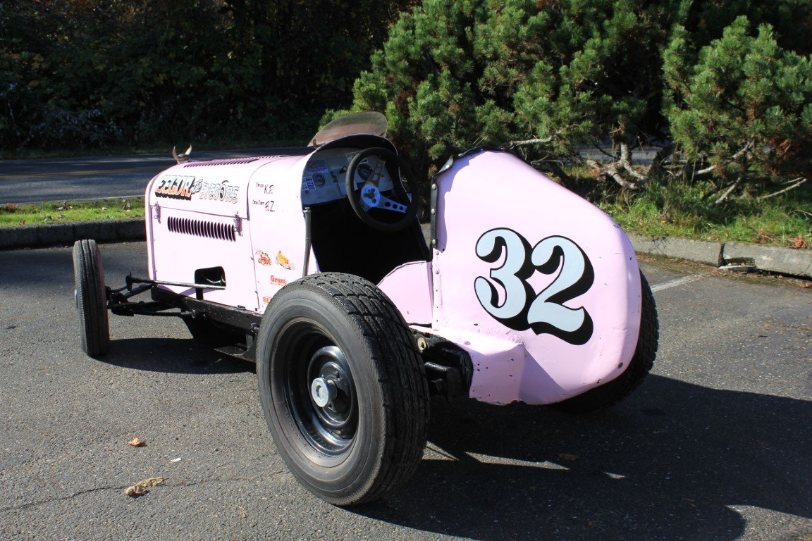 "1952 Borgward Midget ""Eegore the Eyesore"" Famously Raced For Sale by Auction (picture 3 of 6)"