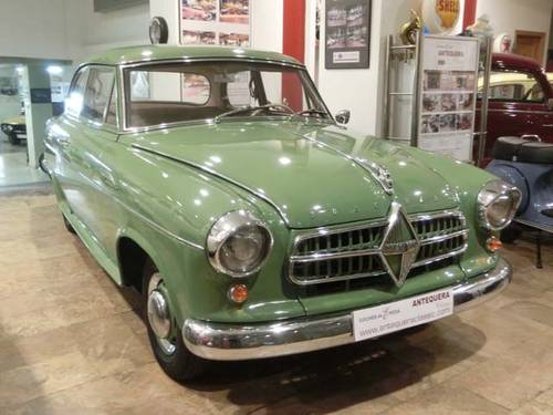 BORGWARD ISABELLA SALOON HANSA 1500 - 1956 For Sale (picture 1 of 6)