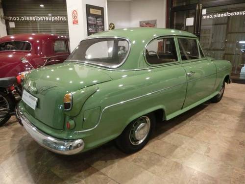 BORGWARD ISABELLA SALOON HANSA 1500 - 1956 For Sale (picture 2 of 6)