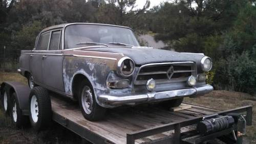 Mind-Bendingly scarce 1961 Borgward P-100  For Sale (picture 2 of 3)