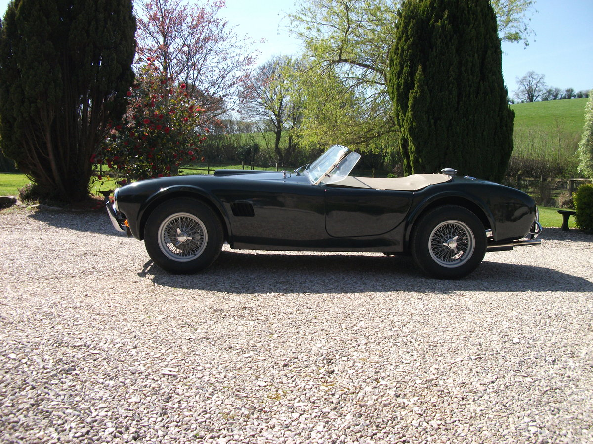 1963  AC Cobra replica. BRA/MG 289  Car no 81 0001 V8 SOLD (picture 1 of 6)