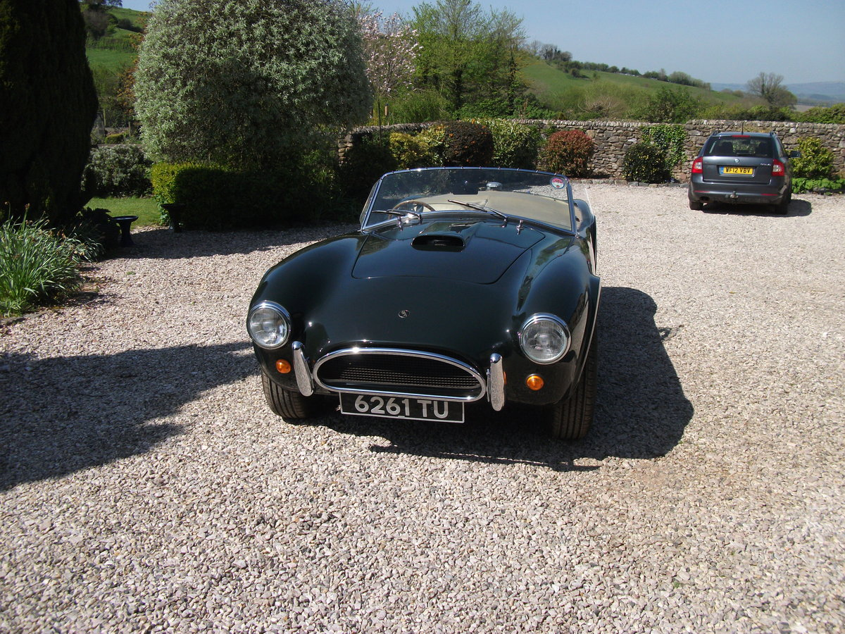 1963  AC Cobra replica. BRA/MG 289  Car no 81 0001 V8 SOLD (picture 2 of 6)