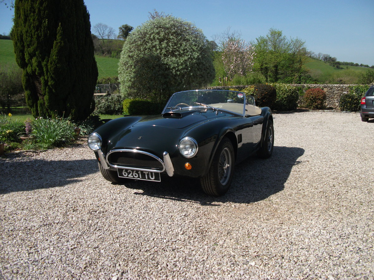 1963  AC Cobra replica. BRA/MG 289  Car no 81 0001 V8 SOLD (picture 4 of 6)