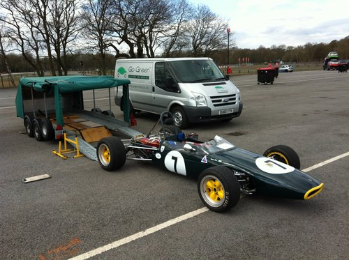 1965 Brabham BT15 1 litre F3 historic SOLD (picture 1 of 6)