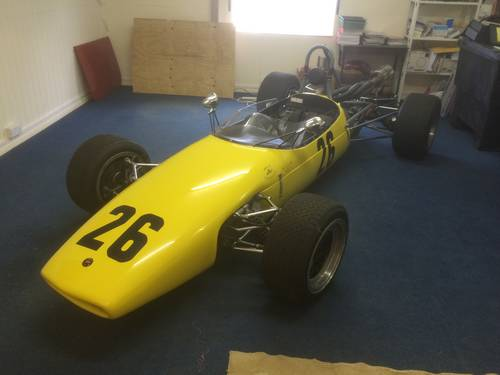 1965 Stunning Brabham BT15 F3 SINGLE SEATER GOODWOOD ELIGIBLE !! For Sale (picture 1 of 6)