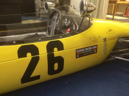 1965 Stunning Brabham BT15 F3 SINGLE SEATER GOODWOOD ELIGIBLE !! For Sale (picture 6 of 6)