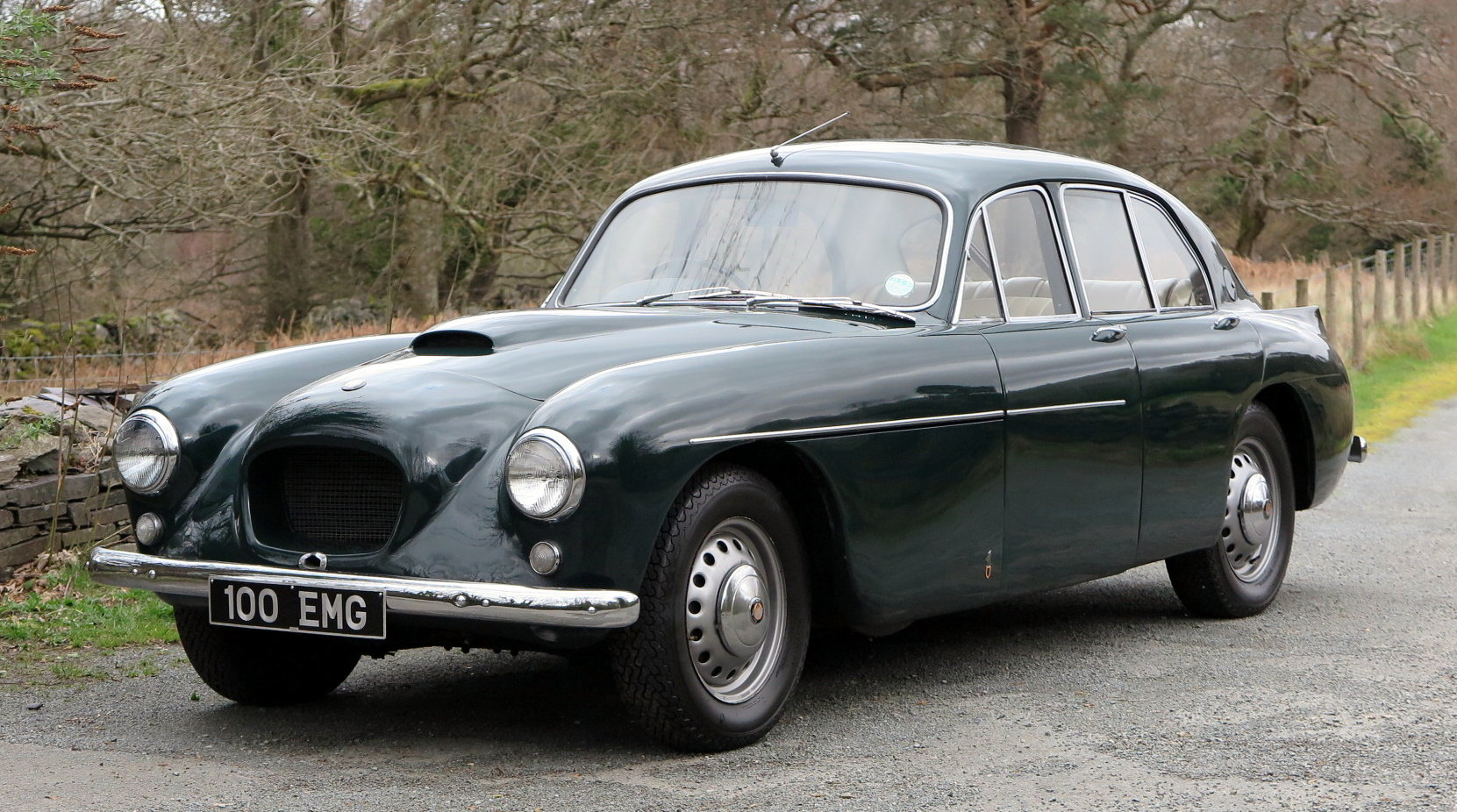 1955 Bristol 405 Four Door Saloon For Sale (picture 1 of 6)