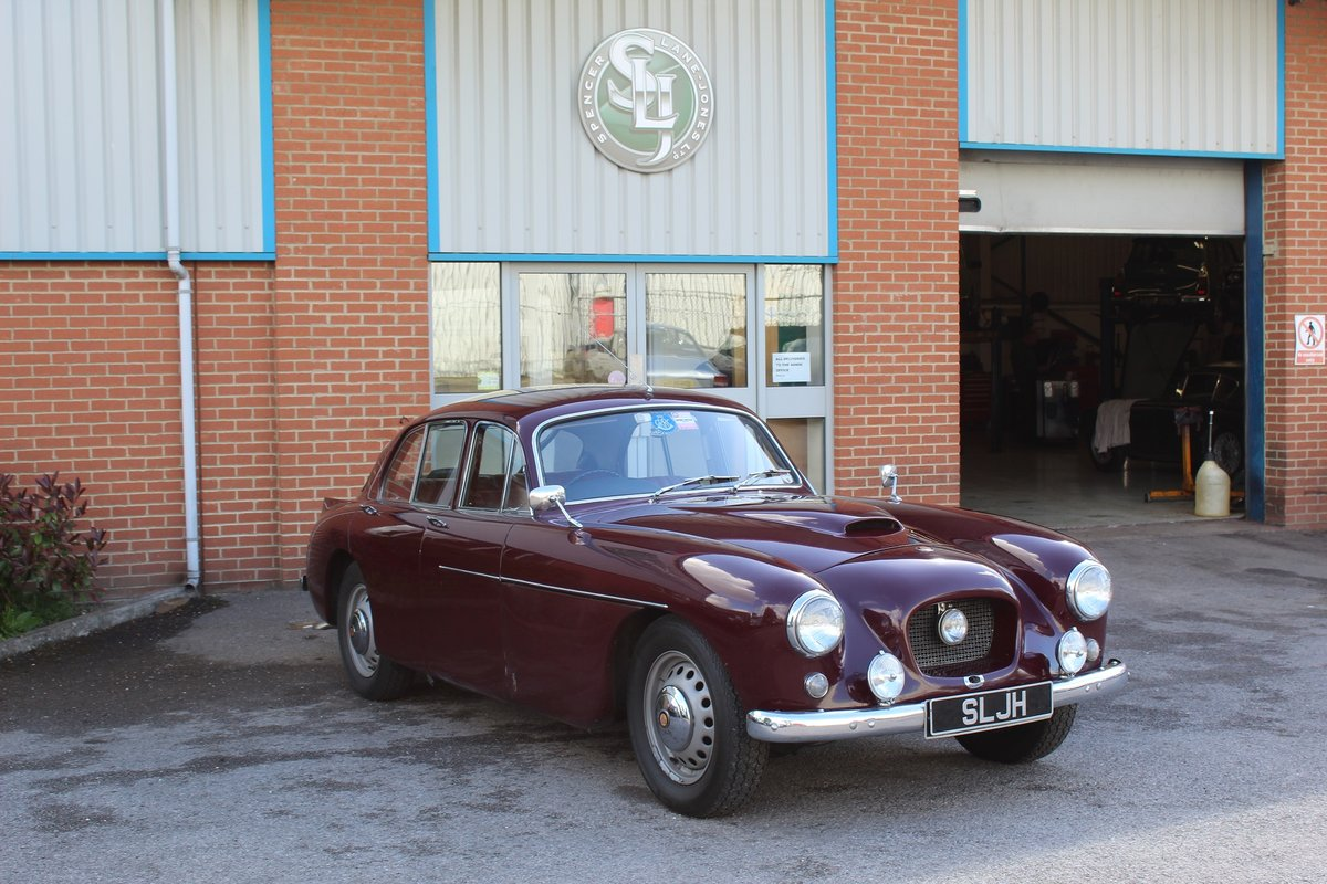 1955 Red Bristol 405  For Sale (picture 1 of 6)