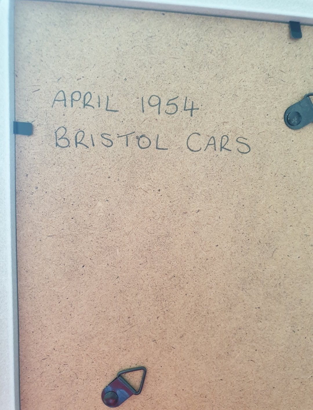 1954 Bristol Advert Original  For Sale (picture 2 of 2)