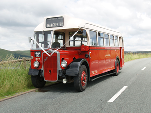 RARE 1939 Antique Bristol L5G Single Decker Bus