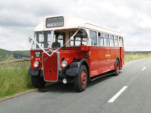 RARE 1939 Antique Bristol L5G Single Decker Bus For Sale