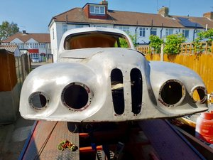 1953 Bristol 401 rare project chassis 1189.